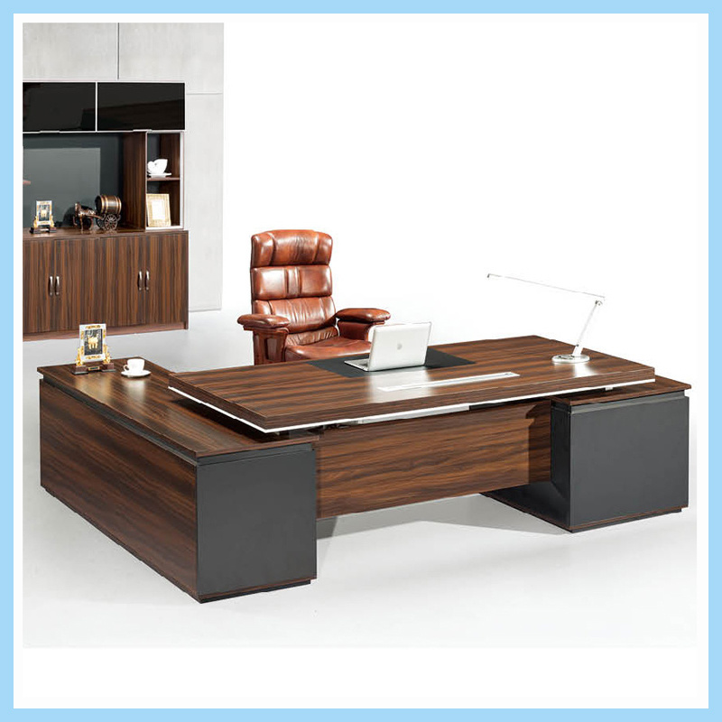 China Foshan Furniture Wood Manager Table Office Executive Desk