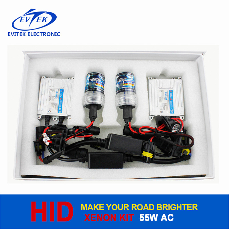 Automobile Parts HID Kit 55W AC Slim Xenon HID Kit Tn-3005A Xenon 55W HID Light 6000k