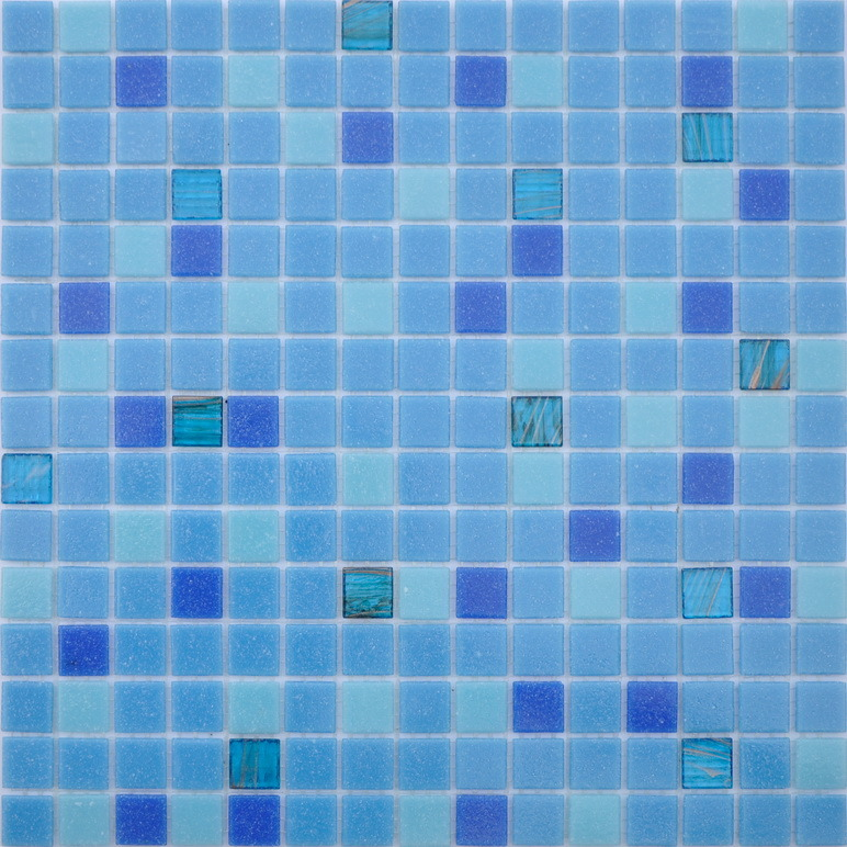 China Cheap Mosaic Tile Sheets Glass Mosaic for Swimming Pool Tile ...