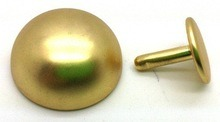 20X10mm Matt Gold Brass T Stud for Handbag