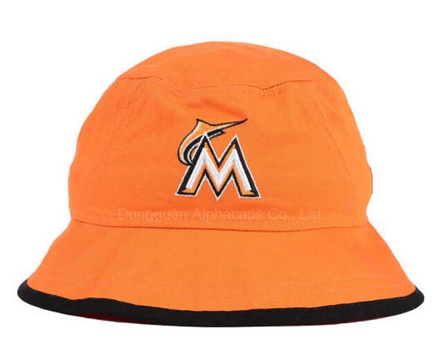8605402c95d4e China Embroidery Logo Black Edge Wrap Brim Bucket Hat Fishing Hat Lady′s  Hats - China Bucket Hat