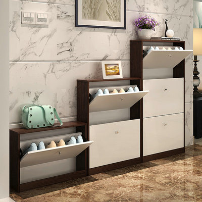 Storage Customized Living Room Furniture Wooden Shoe Rack (FS S019)