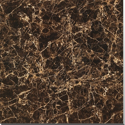 Spain Dark Brown Color Web 800x800mm Marble Tile