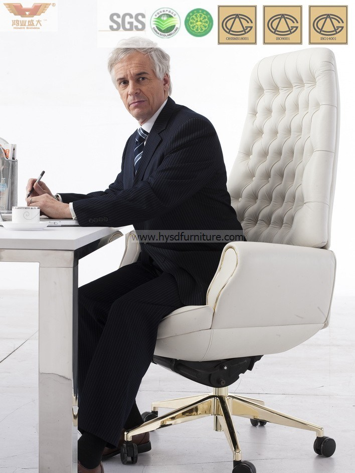 China Modern Design Leather Reclining Office Chair With Footrest China Leather Chair Modern Chair