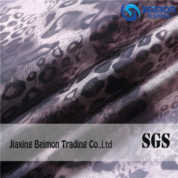 2015 Shimmer Printed Polyester Fabric for Clothing pictures & photos