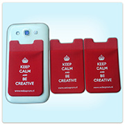 mobile phone card case wholesale cell phone card holder customized adhesive phone back card - Phone Card Holder Custom