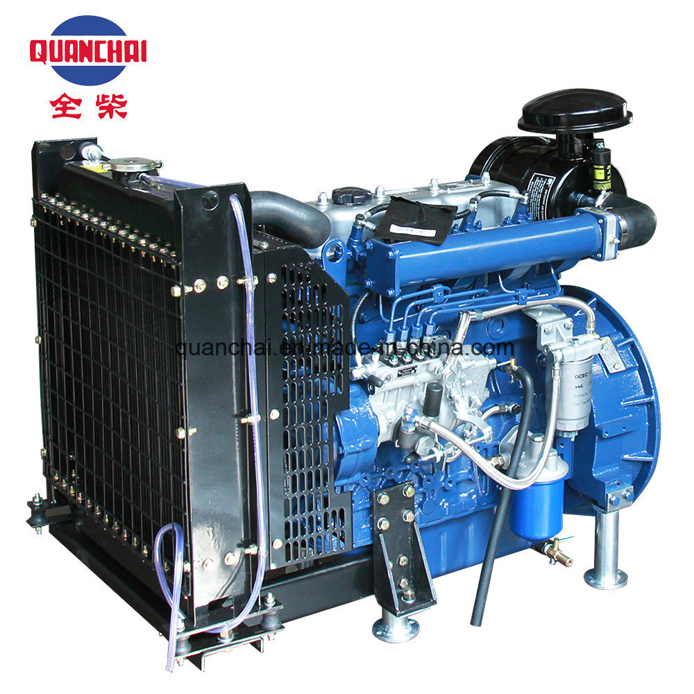Chinese Best 4-Cylinder Diesel Engine for Sale QC490d Photos