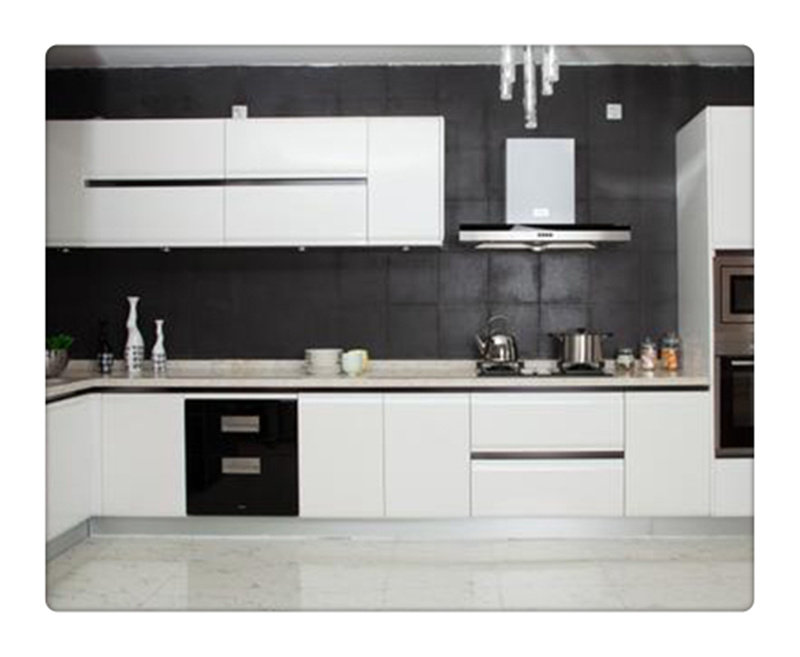 China White Finish Stainless Steel Kitchen Cabinets China Our Door Kitchen Modular Kitchen