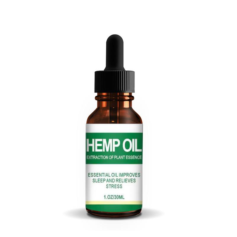China Free Sample Organic Hemp Oil 100 Natural Anti Aging Facial