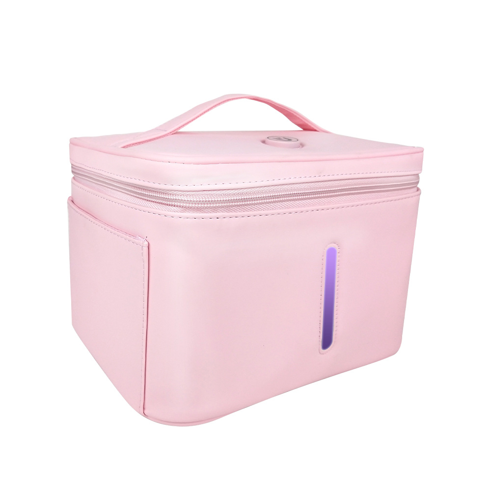 Sterilization Rate 99.9% Prevent Germ Infection 3 Minute One-Button UV LED Light Disinfection Bag