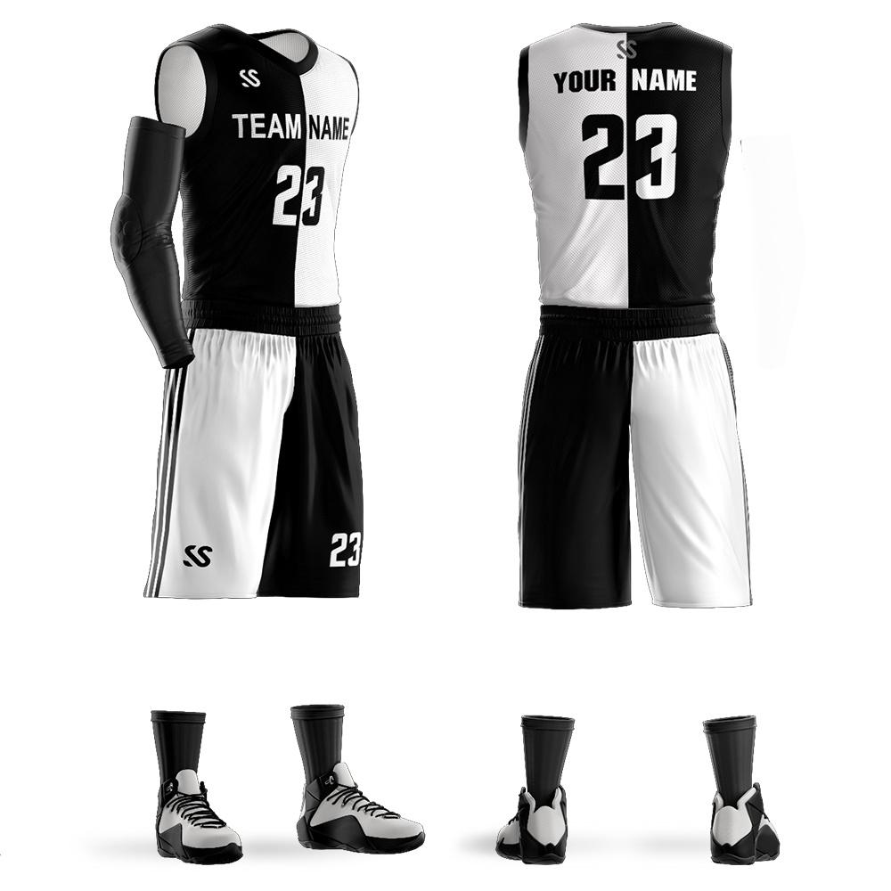 China Breathable Popular Wholesale Sublimation Basketball Uniform Free Design China Jerseys And Basketball Jerseys Sets Price