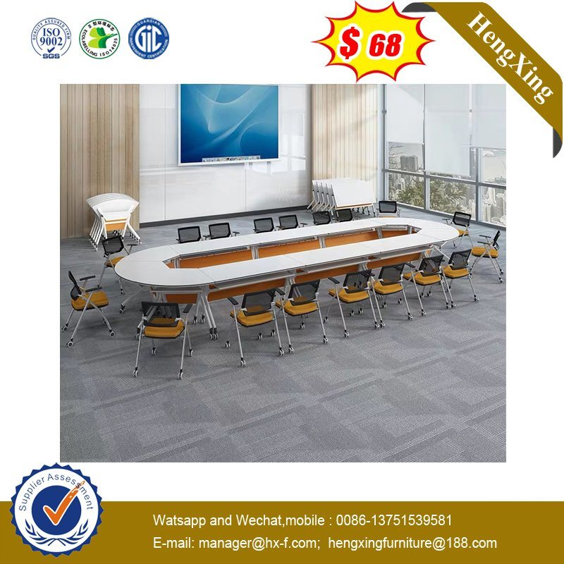 Modern Oval Shape Office School Meeting Room Wooden Conference Table pictures & photos