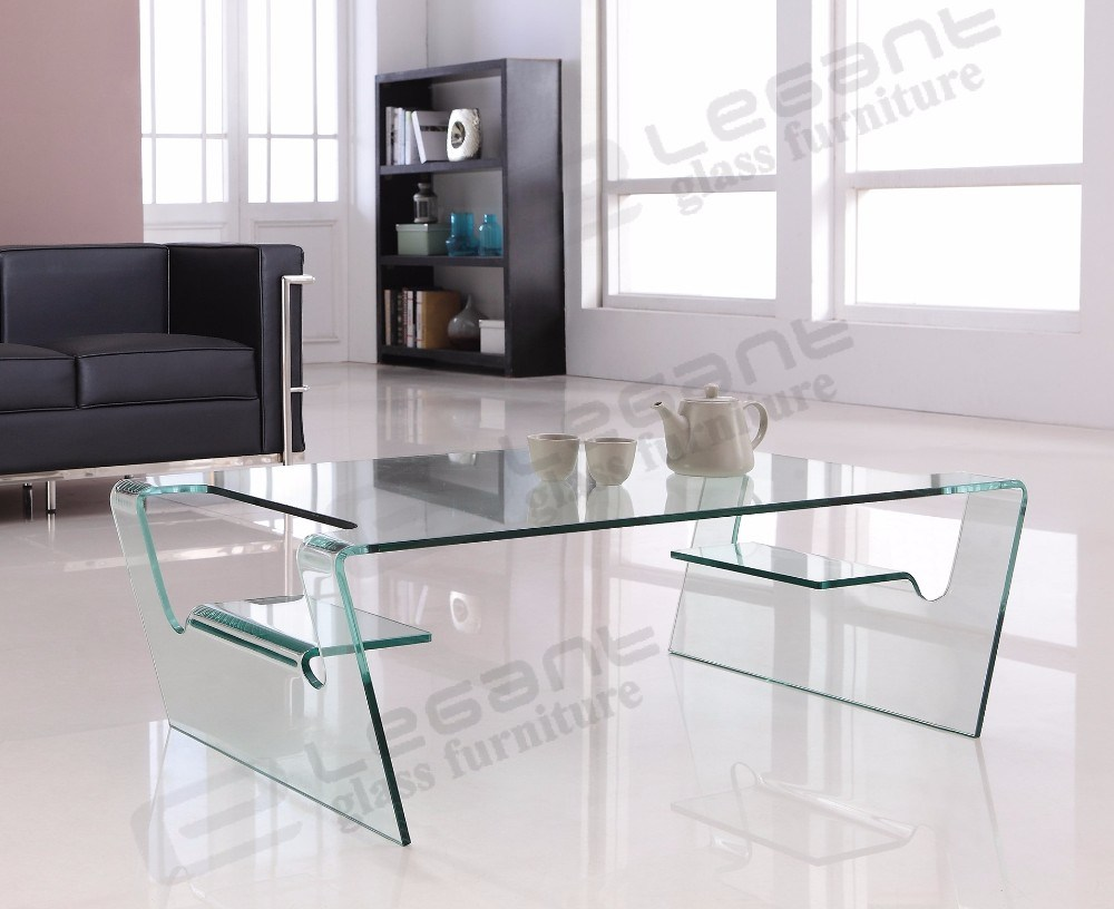 China Clear Bent Glass Center Table With Two Side Doors China Coffee Tables Glass Tables [ 816 x 1000 Pixel ]