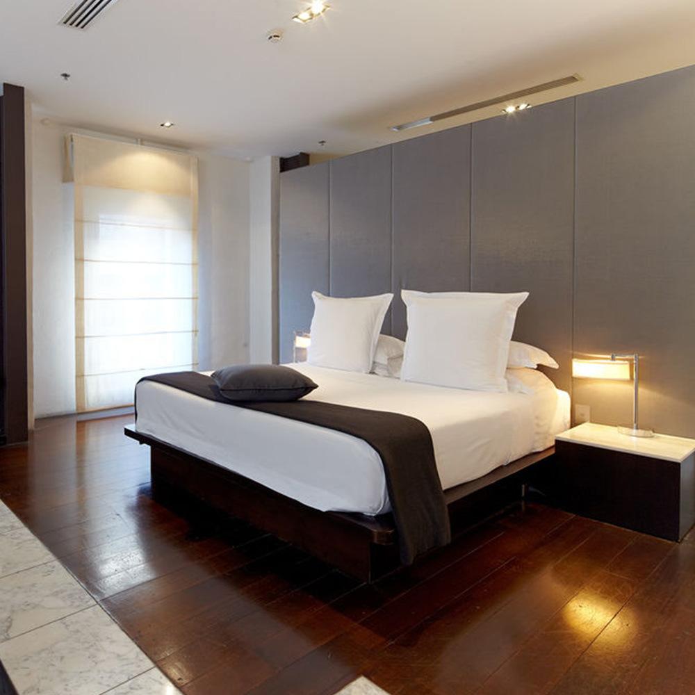 [Hot Item] 5 Star King Size Arabic Hotel Beds Bedroom Furniture Set