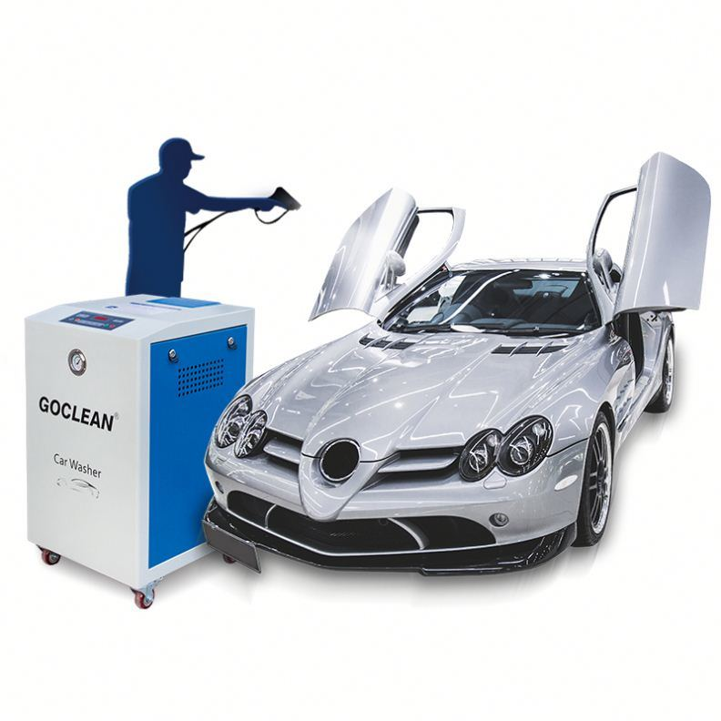 China New Tech Ce Approved Interior Car Detailing China Steam Car Wash Machine Steam Car Wash