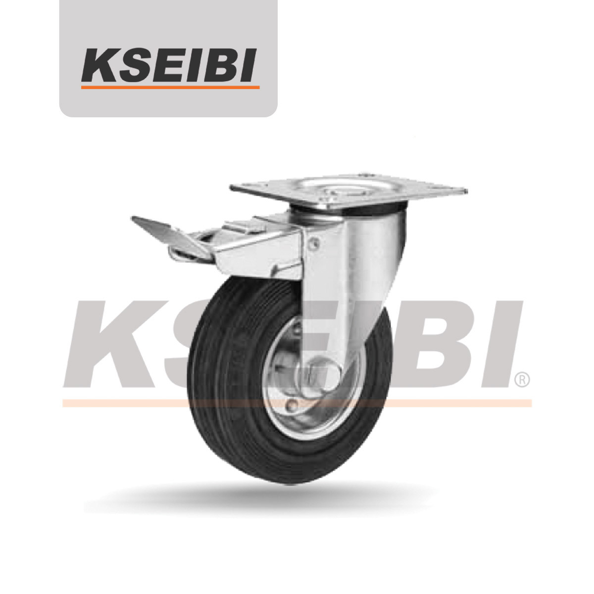 European Style Swivel Kseibi Caster for Trolley