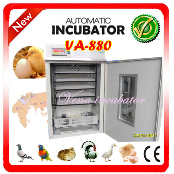Christmas Goods Factory Wholesale Chicken Egg Incubators for Poultry Eggs Hatching Incubator Va-880