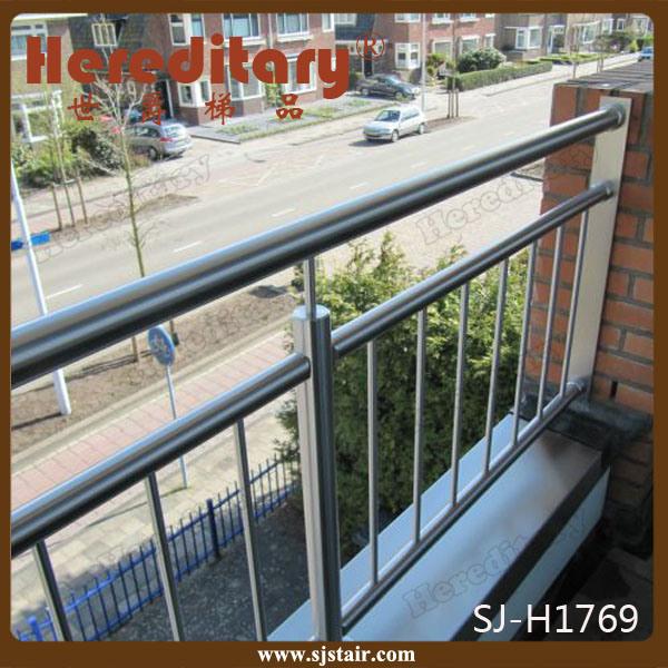 China Stainless Steel Railing Steel Terrace Design (SJ ...