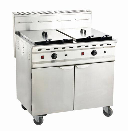 Gas Fryer with Cabinet Gf-482/C