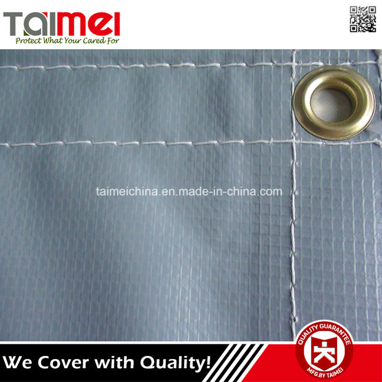 Fire Retardant Waterproof Plastic Tarp Material pictures & photos