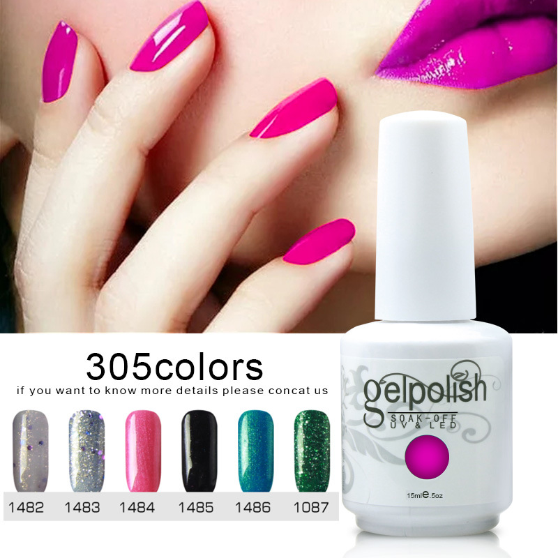 China Nail Arts Design Color Change Light Polish UV Gel - China Nail ...