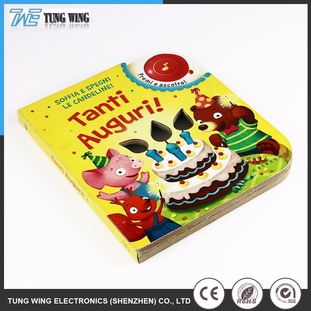 Sound Musical Books Kids Educational Toys with Remote Control pictures & photos