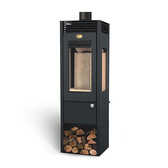 China 4 Kw Small Wood-Burning Fireplace Natural Gas ...