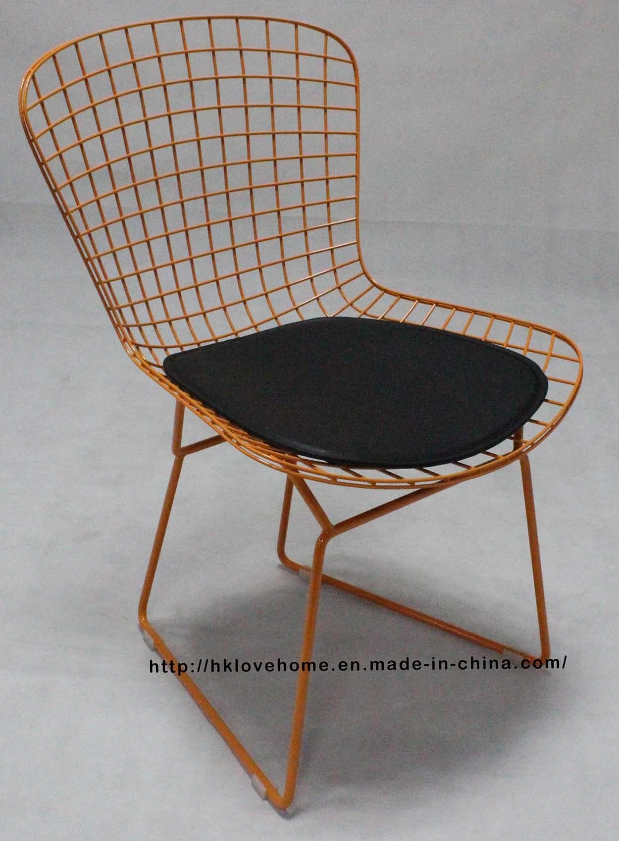 Peachy Hot Item Modern Restaurant Furniture Outdoor Metal Wire Dining Leisure Chair Uwap Interior Chair Design Uwaporg