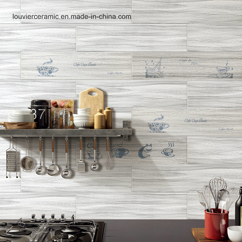China Exclusive Design Wood Looking Luxury Wood Tile Ceramic Tile