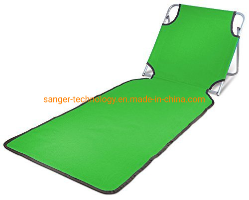 Remarkable Hot Item Portable Beach Mat Lounge Folding Chair Folds Flat For Travel Adjustable Reclining Back Outdoor Lightweight For Kids And Adults Machost Co Dining Chair Design Ideas Machostcouk