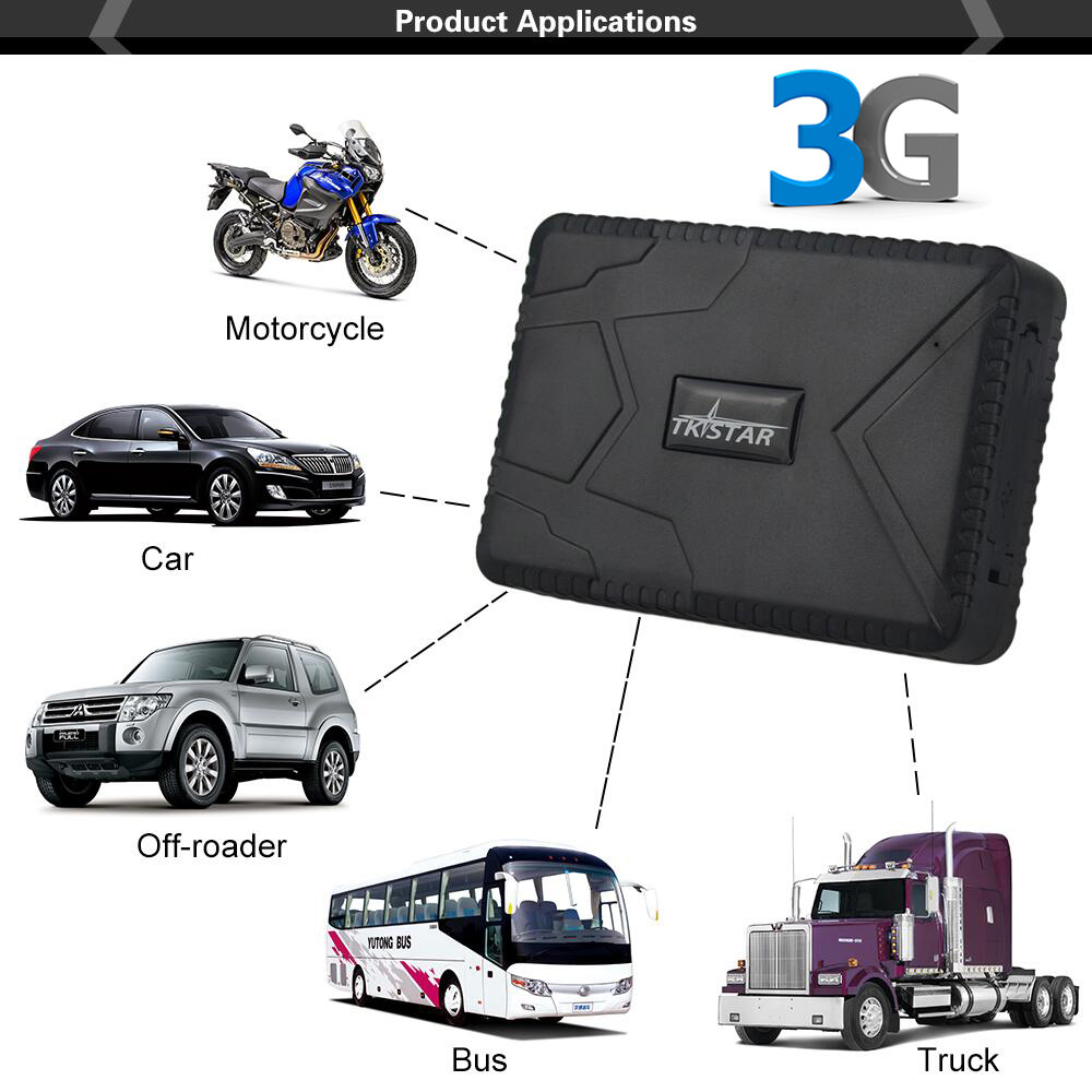 Smart Powerful Magnetic TK915-3G 3G WCDMA Car GPS Tracker History Route Playback