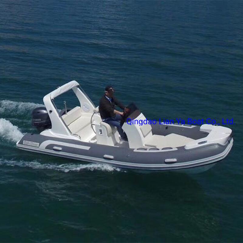 [Hot Item] Liya Luxury 520 Rigid Inflatable Boat Rib Boat with Motor