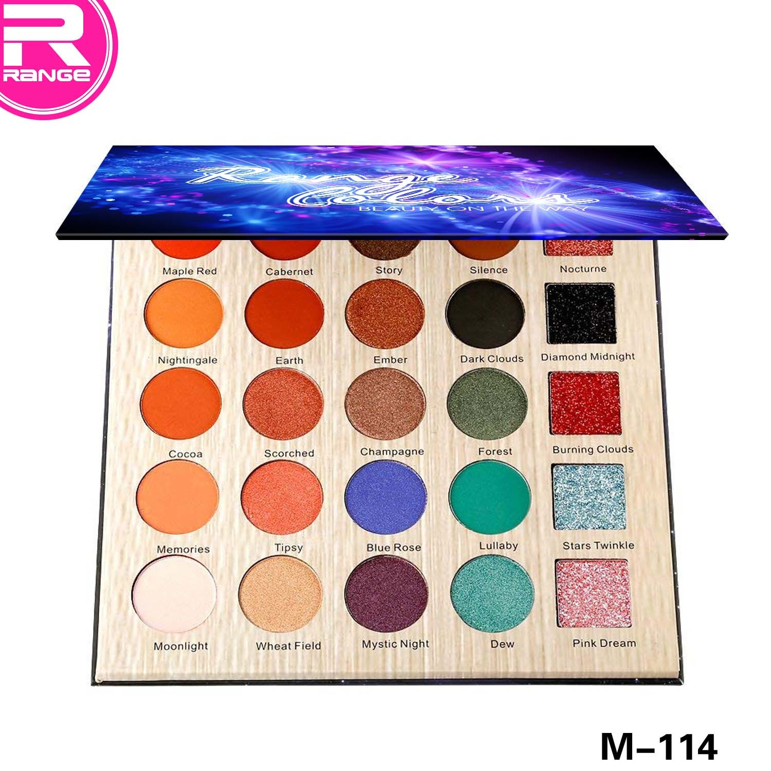 25 Color Eyeshadow Makeup Cosmetic Shimmer Matte Eyeshadow Palette pictures & photos