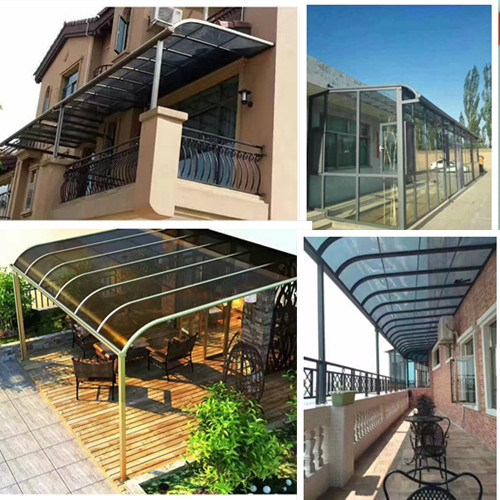 Aluminum Frame Polycarbonate Customized Awning/ Carport /Canopy with Factory Price & China Aluminum Frame Polycarbonate Customized Awning/ Carport ...
