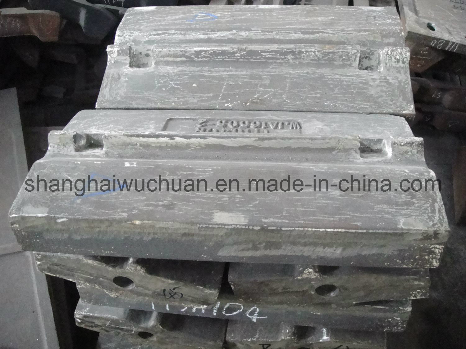 High Chrome Blow Bar for Impact Crusher