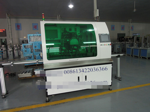 Glass Bottle/Container Silk Screen Printing Machine of Single Color