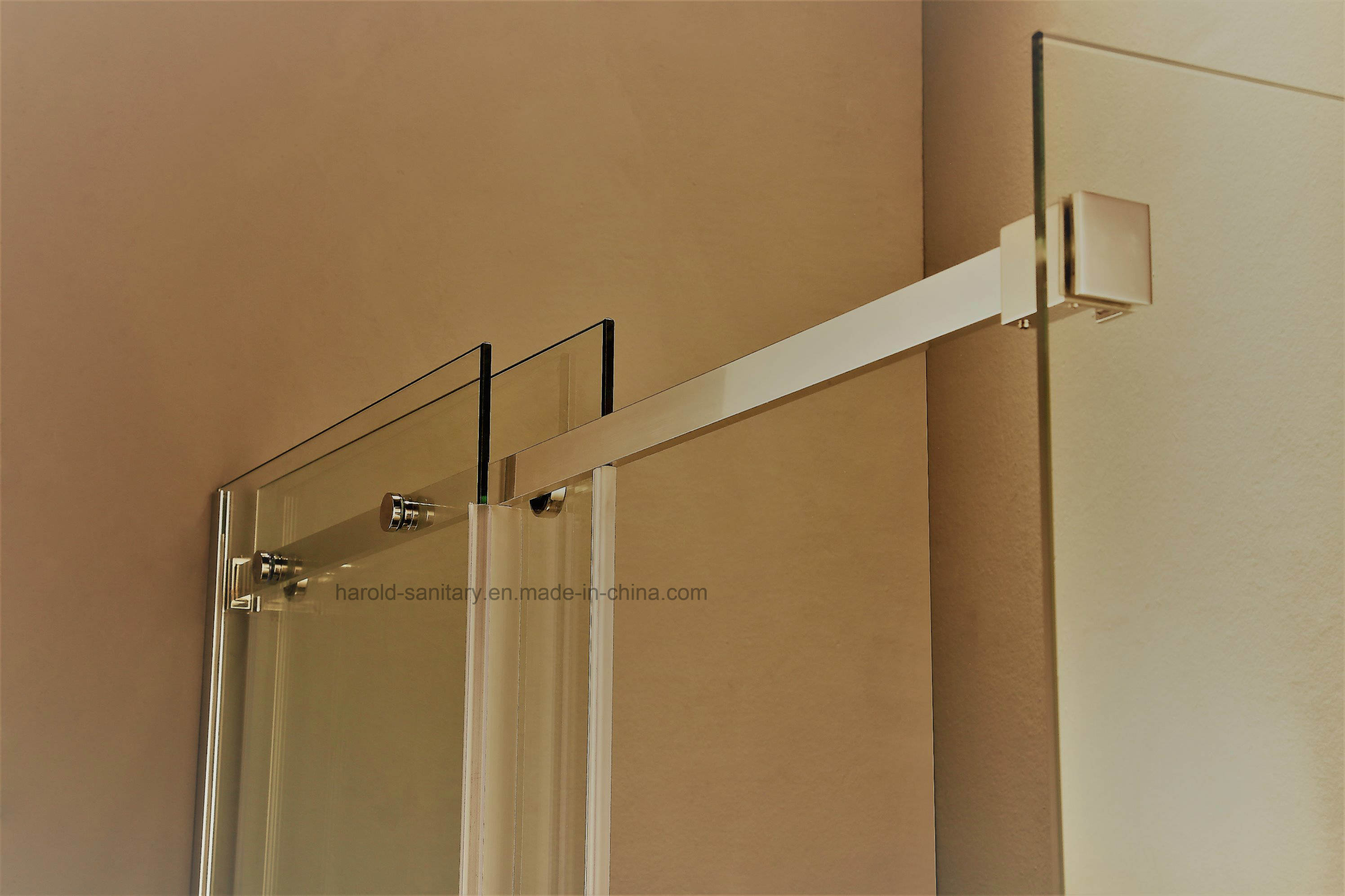 Hr-04 Frameless Single Sliding Shower Enclosure