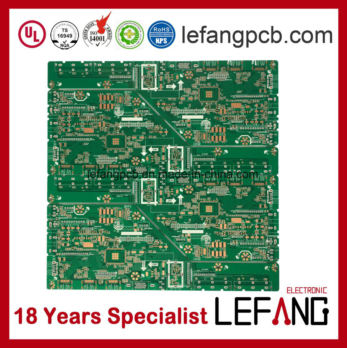 China Rigid Circuit Board Pcb Supplier With Green Solder Mask Printed Assembly Pcba