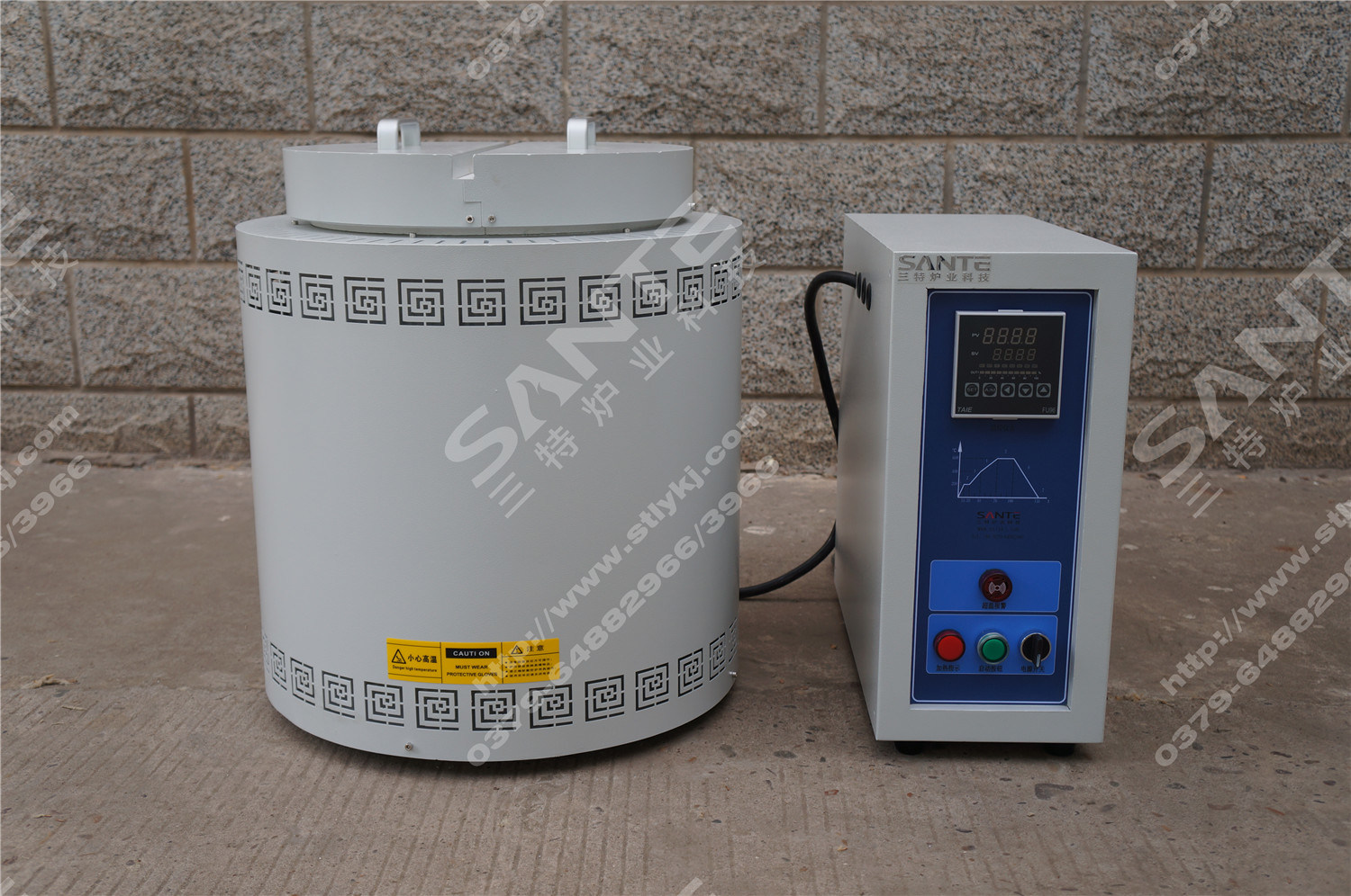 Well Type Furnace Crucible Melting Furnace