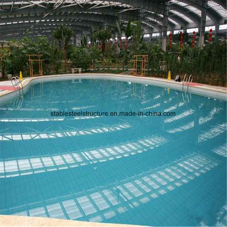 China Best Design Steel Structure Indoor Swimming Pool ...