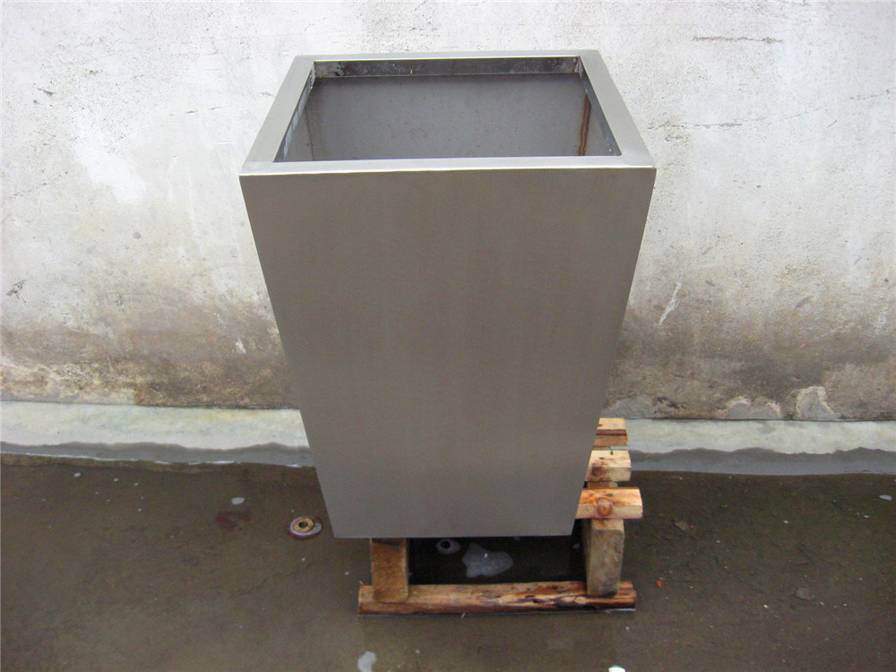 China Flower Pot Metal Stainless Steel