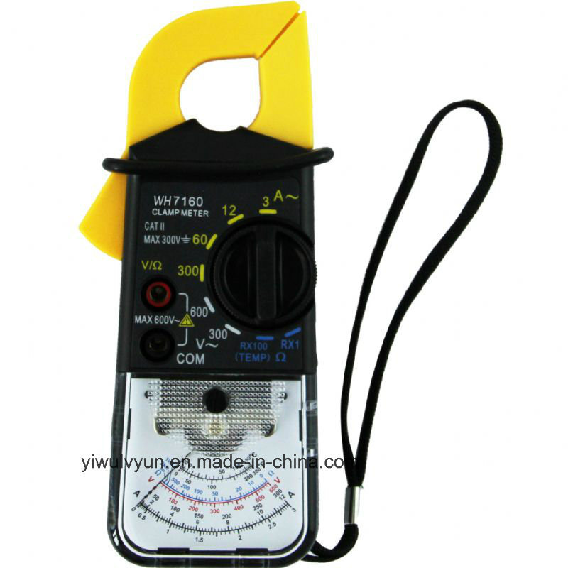7160 High Quality Analog Clamp Meter