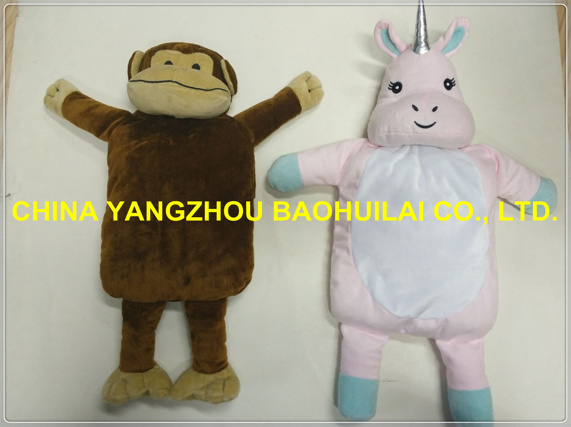 Fantastic Manufacturer 0.75L Hot Water Bottle Animal Plush Toy Cover pictures & photos