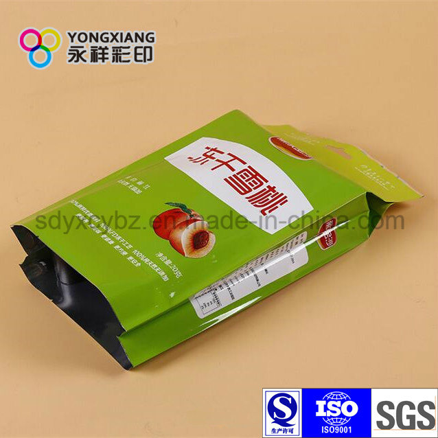 Size Customized Side Gusset Dry Fruit Plastic Food Package pictures & photos
