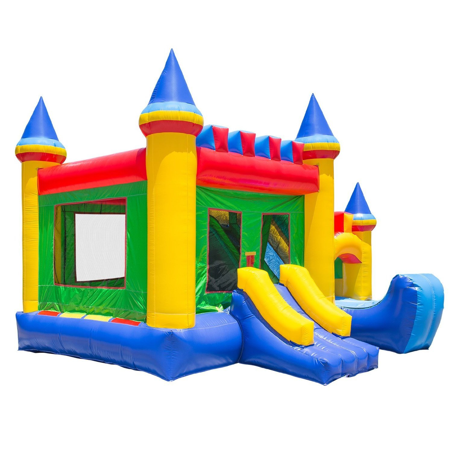 Tarpaulin Giant Inflatable Castle Bouncer Moonwalk pictures & photos