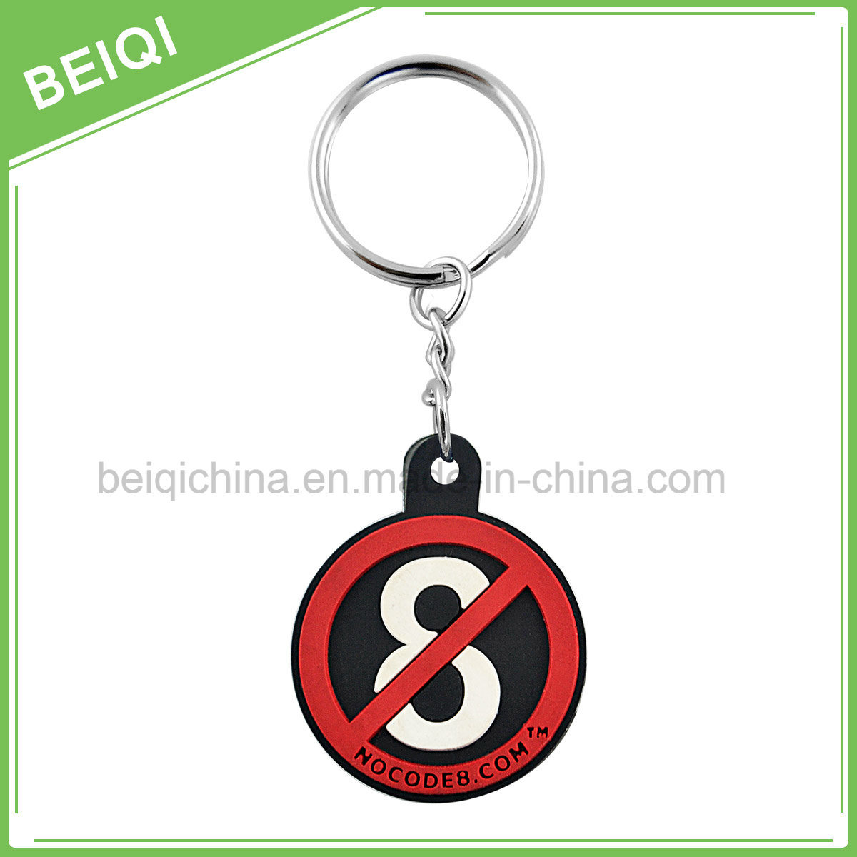 Promotional Cheap3d/2D Soft PVC Key Chain with Custom Logo