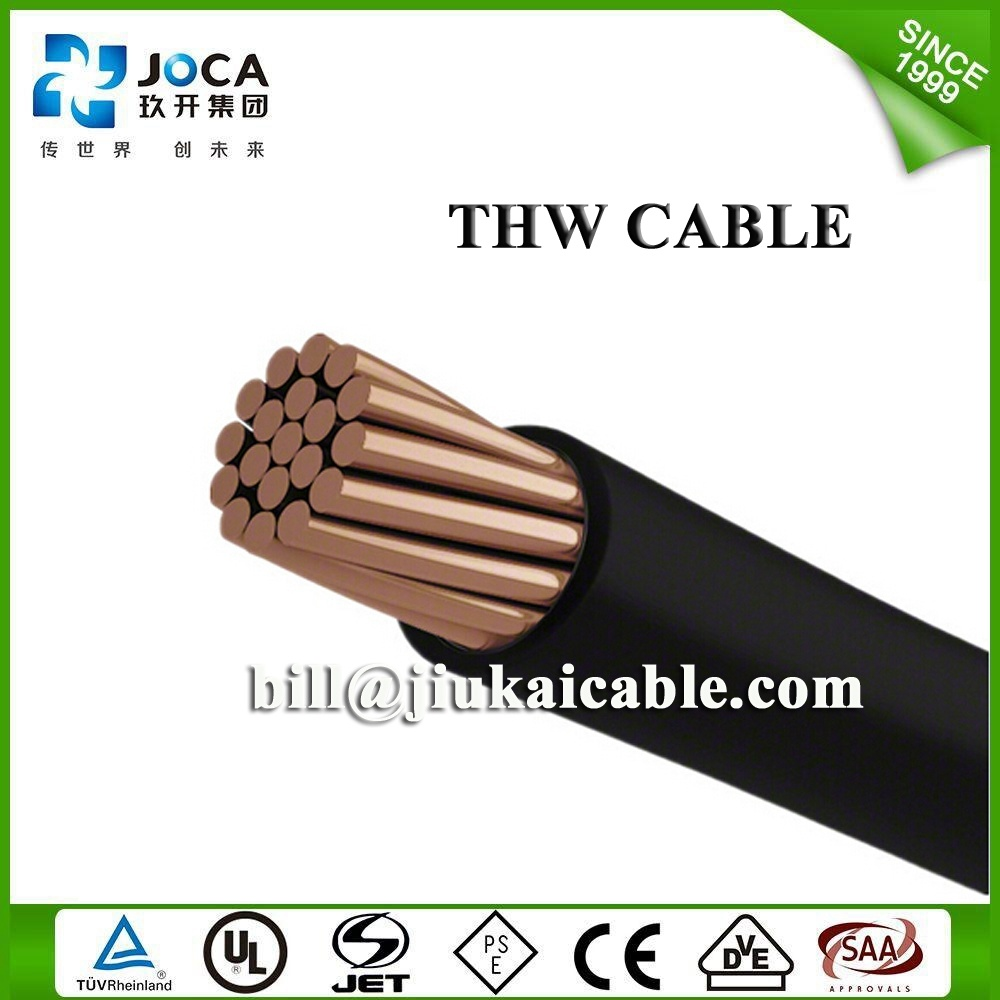 China UL 600V Type Building Wire PVC Insulated Tw/Thw/Thw-2 Cable ...