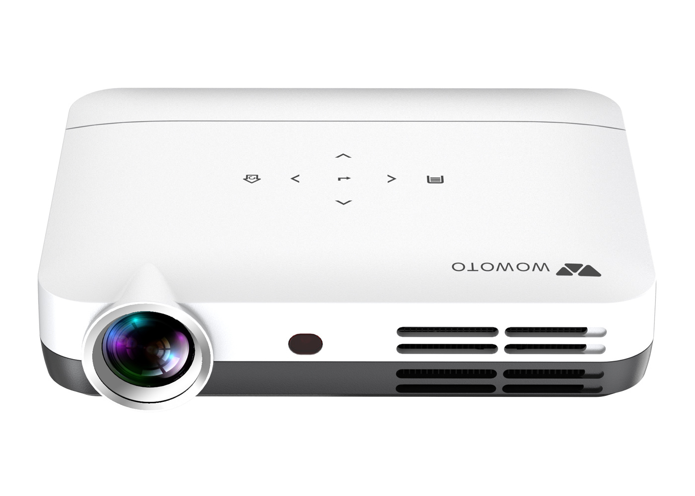 6a68ff28424462 China USA Texas Instruments DLP Technology 3D Portable Projector with Osram LED  Lamp (WOWOTO H8) - China LED Projector, Portable Projector