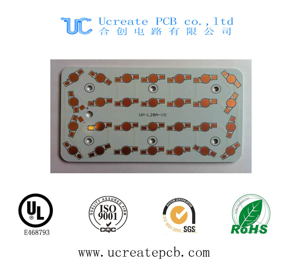 China Double Side Aluminum Pcb Circuit Board For Street Light Pcba