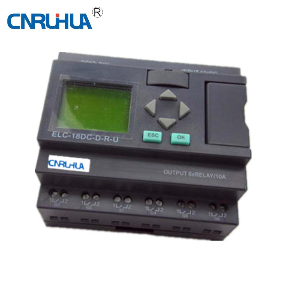 [Hot Item] New Design Easy Use PLC Rhelc-18DC-D-R